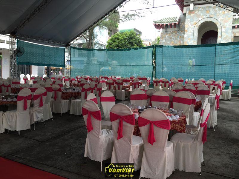 Bàn ghế đám cưới 01