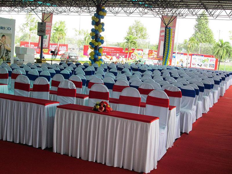 Cho thuê bàn ghế sự kiện | đám cưới tại Đồng Nai | Biên Hòa | Trảng Bom | Long Thành | Nhơn Trạch | Long Khánh