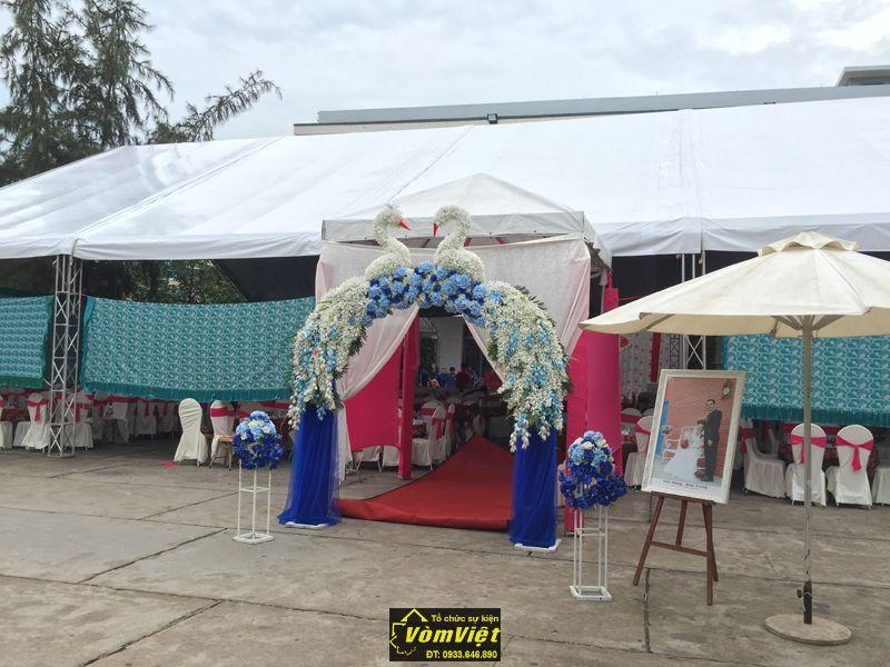 Cổng hoa - Ảnh cưới - Trụ hoa