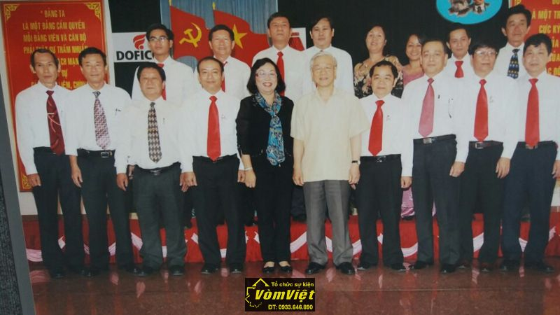 Tổng bí thư BCH TW Đảng Nguyễn Phú Trọng cũng đã tới thăm và làm việc tại tổng công ty.