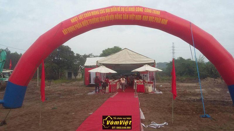 Lễ khởi công - Công trình xây dựng phân hiệu trưởng cán bộ hội nông dân Việt Nam - H1