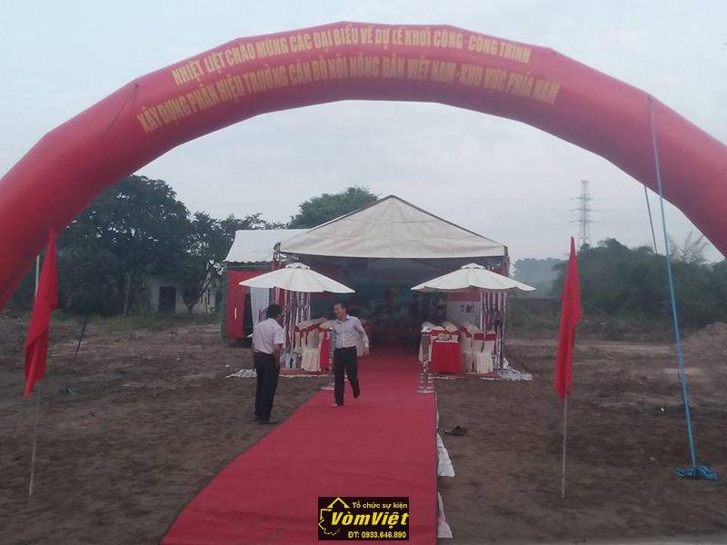 Lễ khởi công - Công trình xây dựng phân hiệu trưởng cán bộ hội nông dân Việt Nam - H8