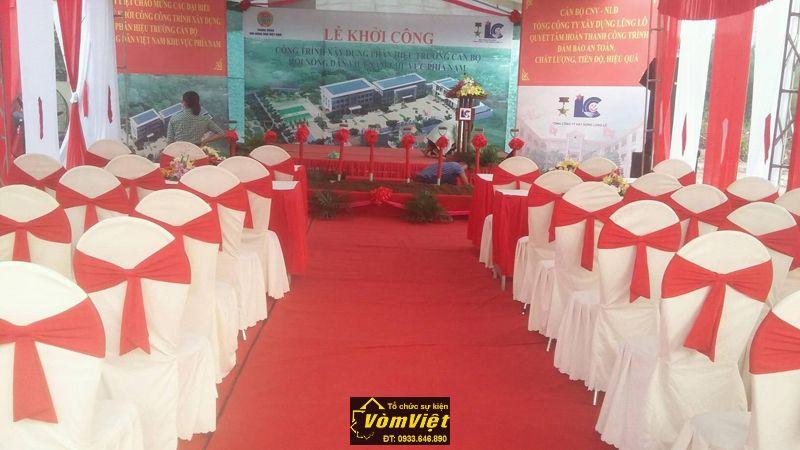 Lễ khởi công - Công trình xây dựng phân hiệu trưởng cán bộ hội nông dân Việt Nam - H6