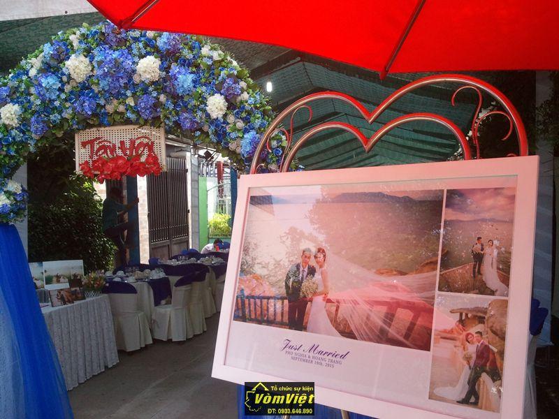 Cổng hoa - Ảnh cưới