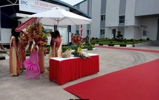 Lễ Khánh Thành Xí Nghiệp EPIC DESIGNERS Việt Nam- H8