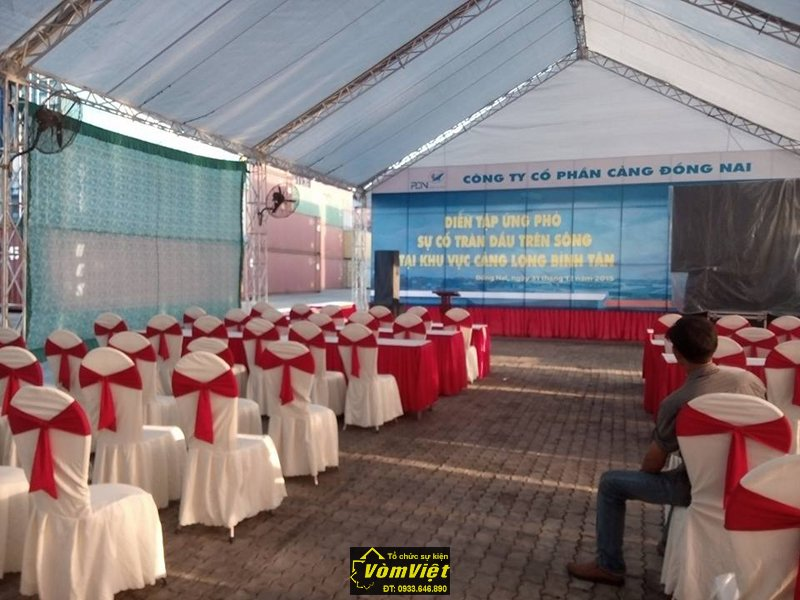 Lễ Diễn Tập Ứng Phó Sự Cố Tràn Dầu Tại Cảng Long Bình Tân. Hình 9