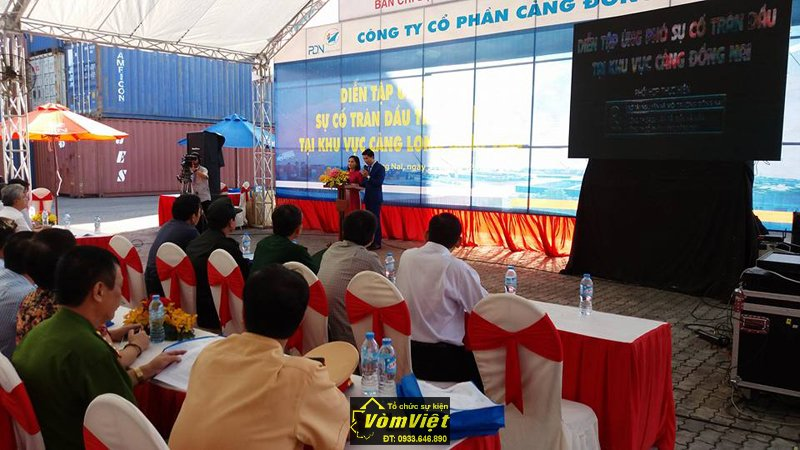 Lễ Diễn Tập Ứng Phó Sự Cố Tràn Dầu Tại Cảng Long Bình Tân. Hình 4