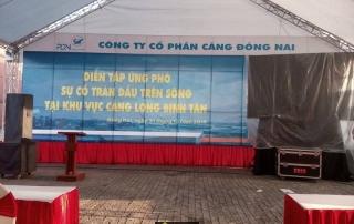 Lễ Diễn Tập Ứng Phó Sự Cố Tràn Dầu Tại Cảng Long Bình Tân. Hình 2