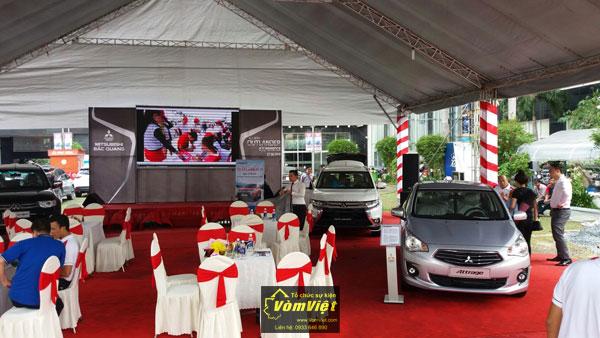 Buổi ra mắt dòng xe mới của hãng Mitsubishi - Hình 01