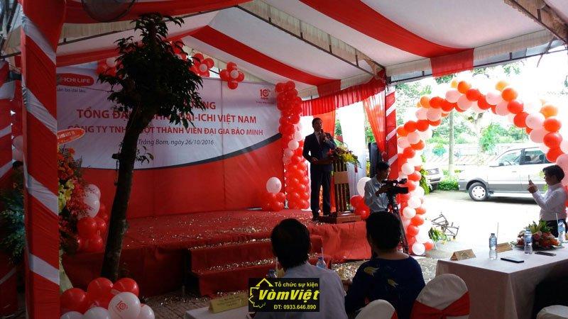 Lễ Khai Trương Tổng Đại Lý BHNT Dai-ichi Việt Nam tại Trảng Bom Hình 1