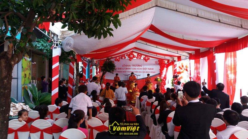 Lễ Khai Trương Tổng Đại Lý BHNT Dai-ichi Việt Nam tại Trảng Bom Hình 3