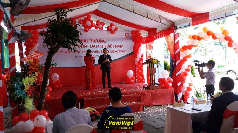 Lễ Khai Trương Tổng Đại Lý BHNT Dai-ichi Việt Nam tại Trảng Bom Hình 7