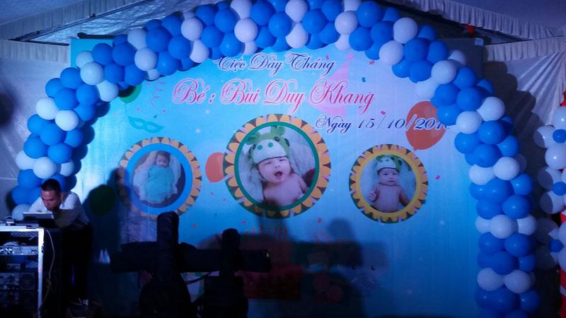 Tiệc Đầy Tháng Bé Buỳ Duy Khang tại Trảng Bom Hình 3