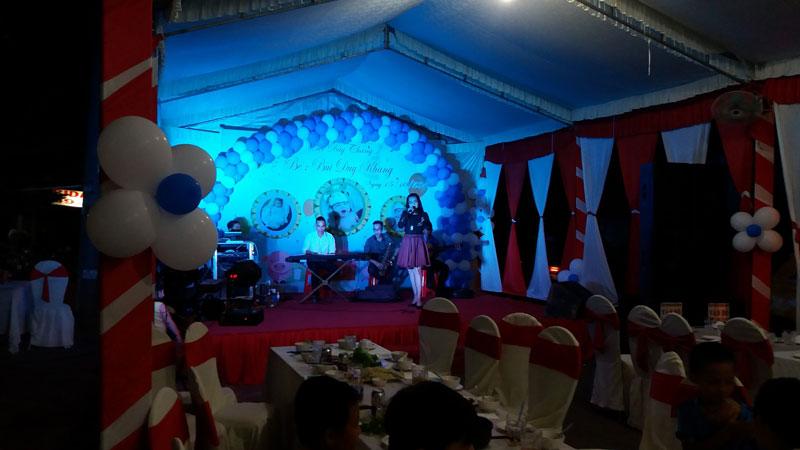Tiệc Đầy Tháng Bé Buỳ Duy Khang tại Trảng Bom Hình 5