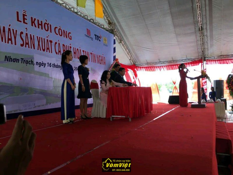 Lễ Khởi Công - Xây Dựng Nhà Máy Cafe Hòa Tan Tín Nghĩa tại KCN Nhơn Trạch - Hình 1