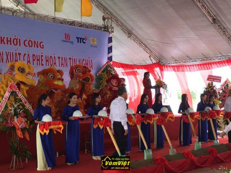 Lễ Khởi Công - Xây Dựng Nhà Máy Cafe Hòa Tan Tín Nghĩa tại KCN Nhơn Trạch - Hình 5