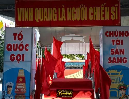 Cảm Nhận Của Nhân Viên Vòm Việt Về Lễ Giao Nhận Quân 2017