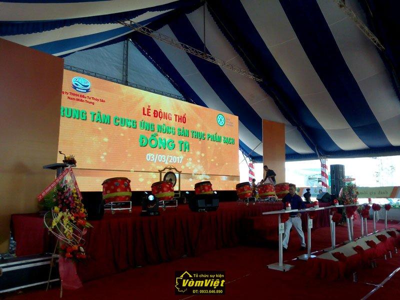 Lễ Động Thổ - Trung Tâm Cung Ứng Nông Sản Thực Phẩm Sạch Đồng Ta tại TP Phan Thiết Hình 1