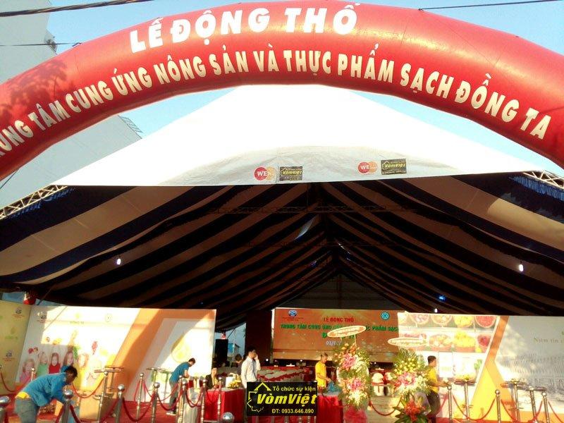 Lễ Động Thổ - Trung Tâm Cung Ứng Nông Sản Thực Phẩm Sạch Đồng Ta tại TP Phan Thiết Hình 2