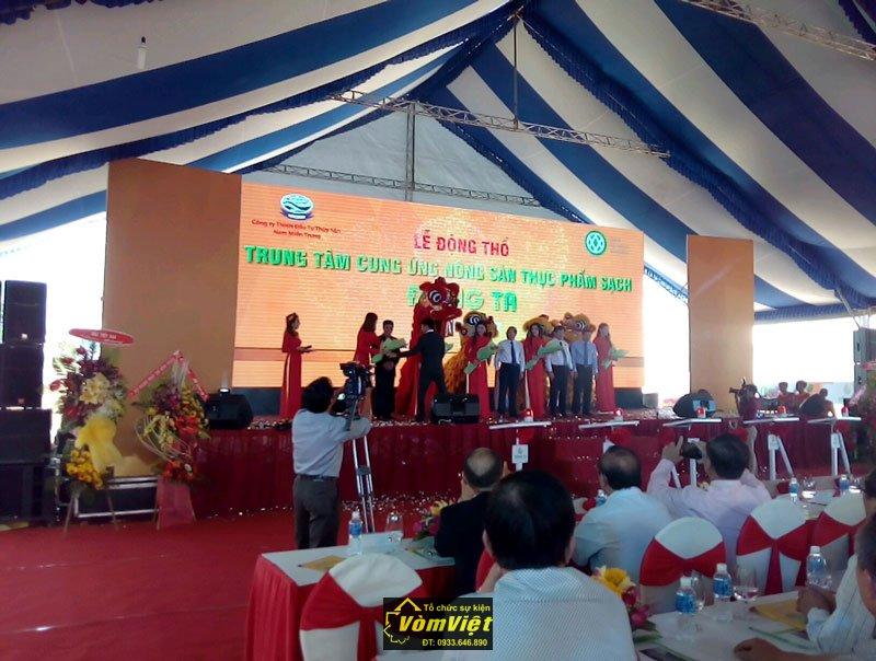 Lễ Động Thổ - Trung Tâm Cung Ứng Nông Sản Thực Phẩm Sạch Đồng Ta tại TP Phan Thiết Hình 4