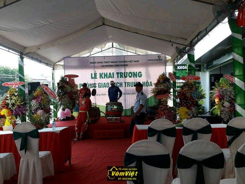 Lễ Khai Trương - Chi Nhánh VietcomBank Phòng Giao Dịch Trung Hòa - Trảng Bom - Hình 2
