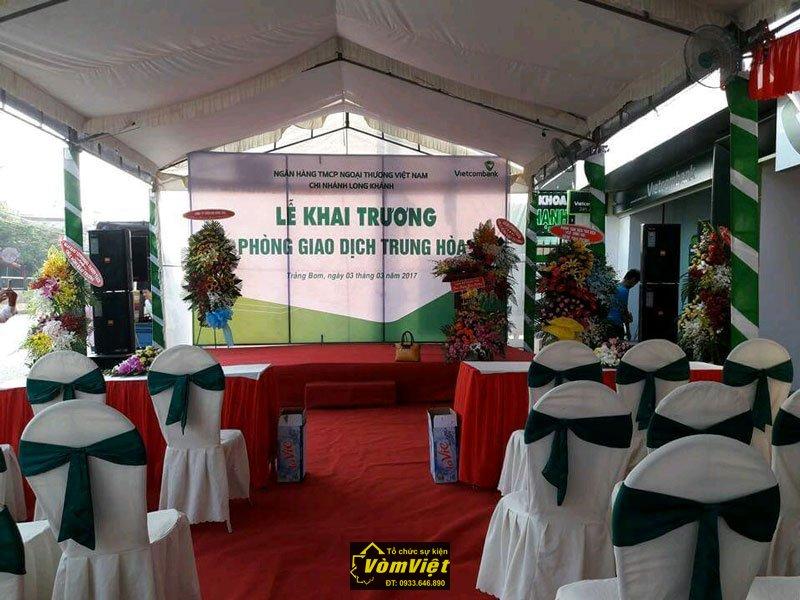 Lễ Khai Trương - Chi Nhánh VietcomBank Phòng Giao Dịch Trung Hòa - Trảng Bom - Hình 3