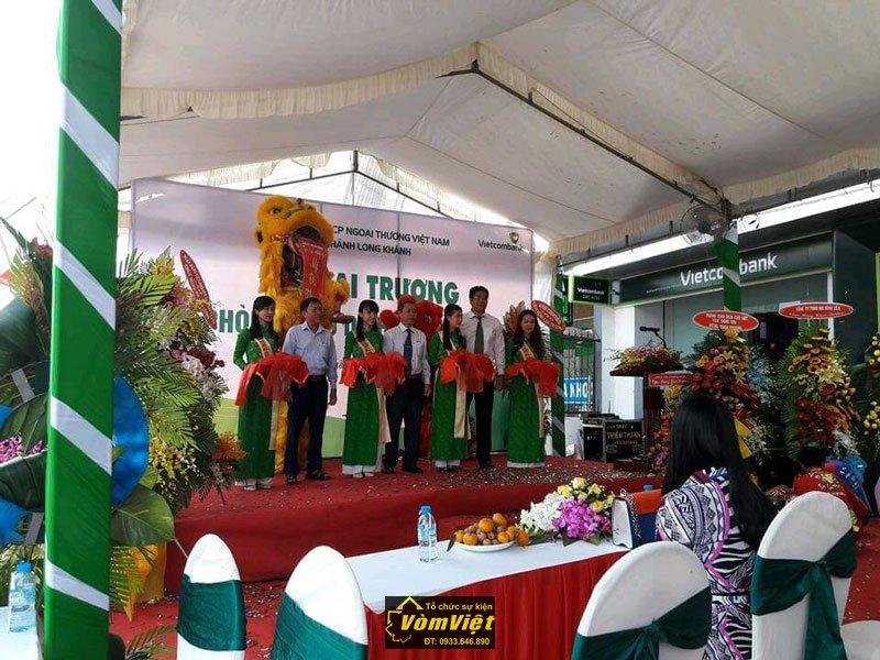 Lễ Khai Trương - Chi Nhánh VietcomBank Phòng Giao Dịch Trung Hòa - Trảng Bom - Hình 4