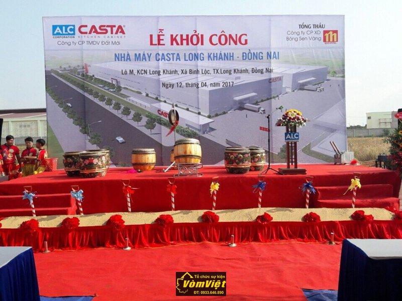 Lễ Khởi Công Xây Dựng Nhà Máy Casta KCN Long Khánh - Đồng Nai Hình 3