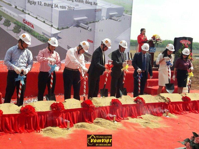 Lễ Khởi Công Xây Dựng Nhà Máy Casta KCN Long Khánh - Đồng Nai Hình 2