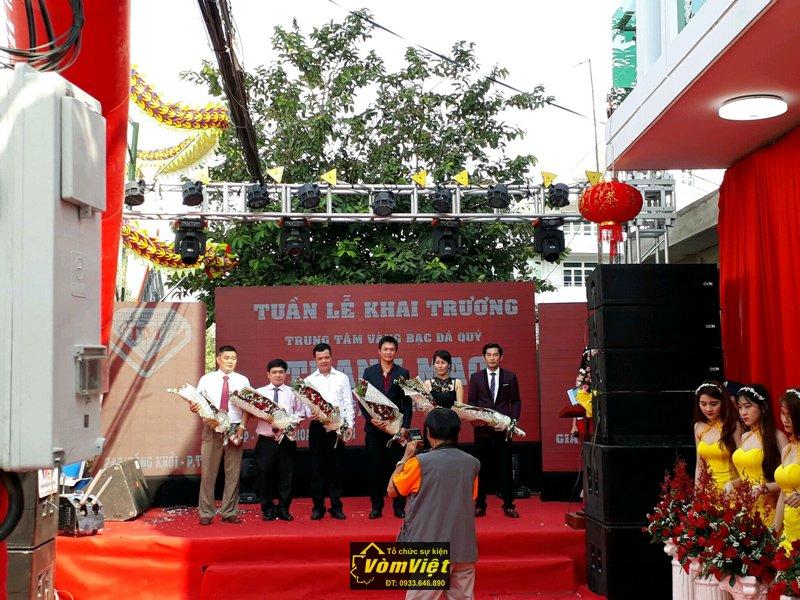 Lễ Khai Trương Trung Tâm Vàng Bạc Đá Quý Thanh Mao  - Hình 2
