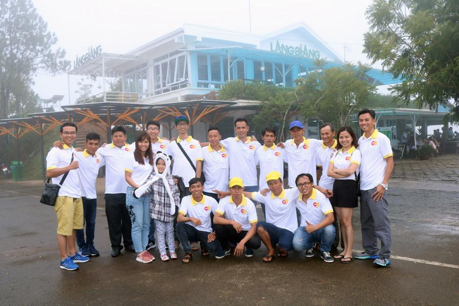 Hình ảnh nhân viên Công ty Tổ chức sự kiện Vòm Việt
