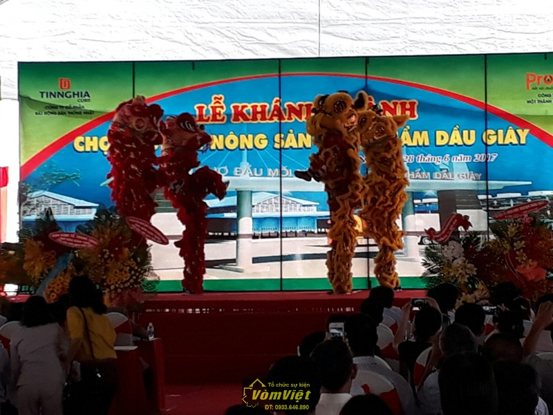 Lễ Khánh Thành Chợ Đầu Mối Nông Sản Thực Phẩm Dầu Giây - Hinh 19