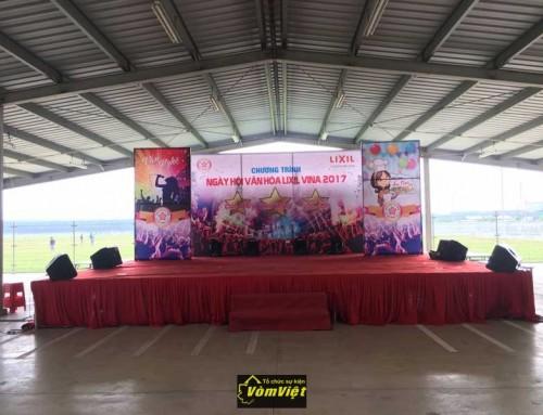 Ngày Hội Văn Hóa – LiXil VINA 2017 tại Khu Công Nghiệp LongĐức Long Thành
