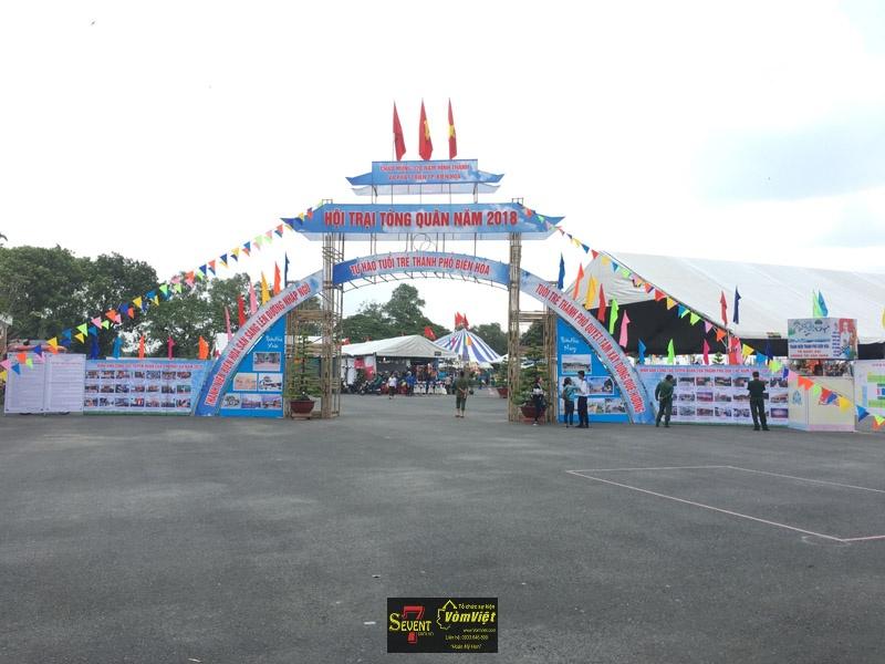 Hội Trại Tòng Quân 2018 Tại Thành Phố Biên Hòa Tỉnh Đồng Nai - Hình 2