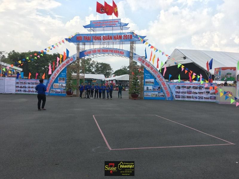 Hội Trại Tòng Quân 2018 Tại Thành Phố Biên Hòa Tỉnh Đồng Nai - Hình 3