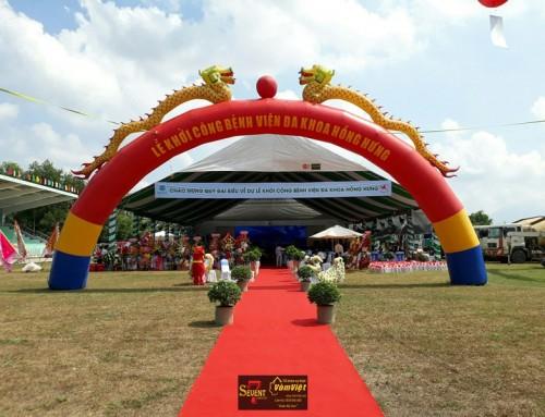 Lễ Khởi Công – Bệnh Viện Đa Khoa Hồng Hưng tại Tây Ninh