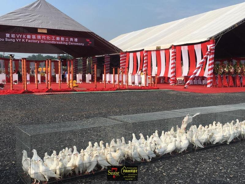 Dự Án Pou Sung VY K Factory Groundbreaking Ceremony tại Trảng Bom - hình 12