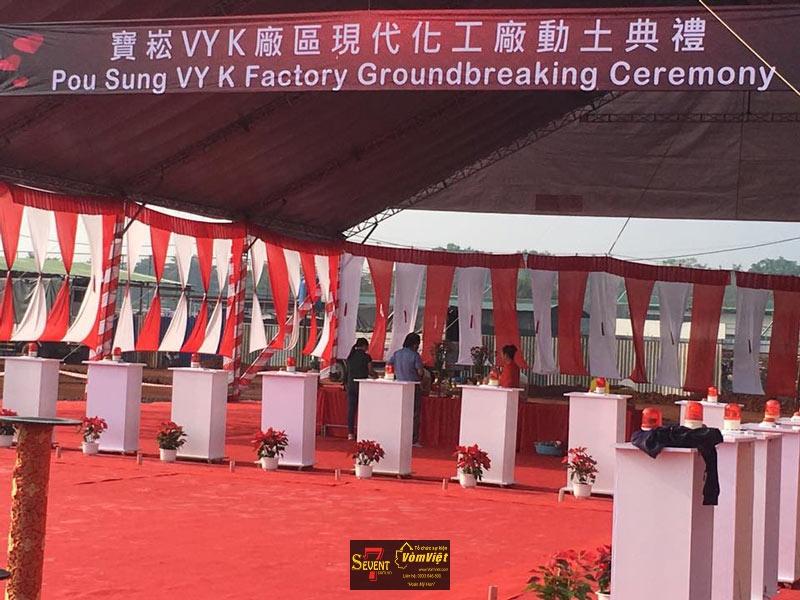 Dự Án Pou Sung VY K Factory Groundbreaking Ceremony tại Trảng Bom - hình 13