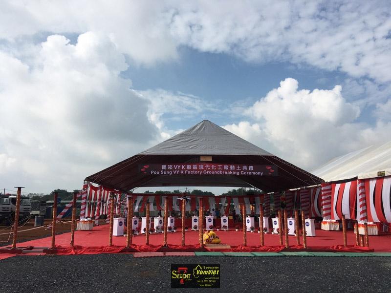 Dự Án Pou Sung VY K Factory Groundbreaking Ceremony tại Trảng Bom - hình 5