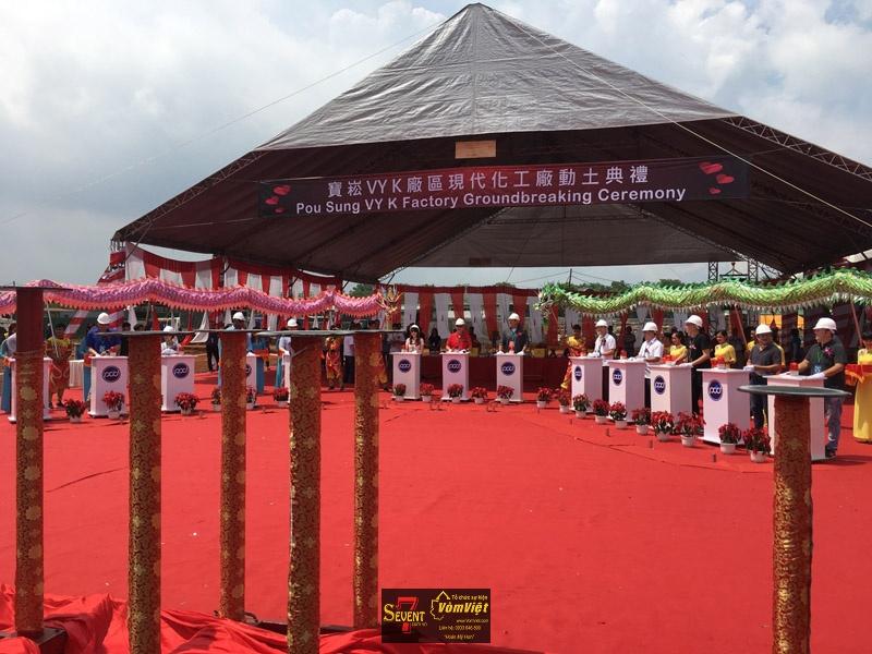 Dự Án Pou Sung VY K Factory Groundbreaking Ceremony tại Trảng Bom - hình 11