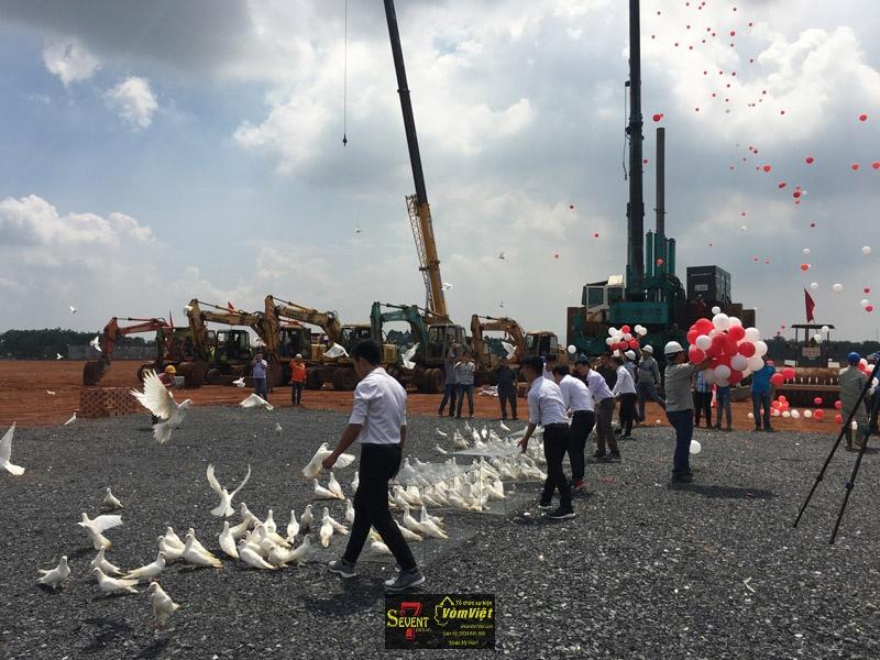 Dự Án Pou Sung VY K Factory Groundbreaking Ceremony tại Trảng Bom - hình 9