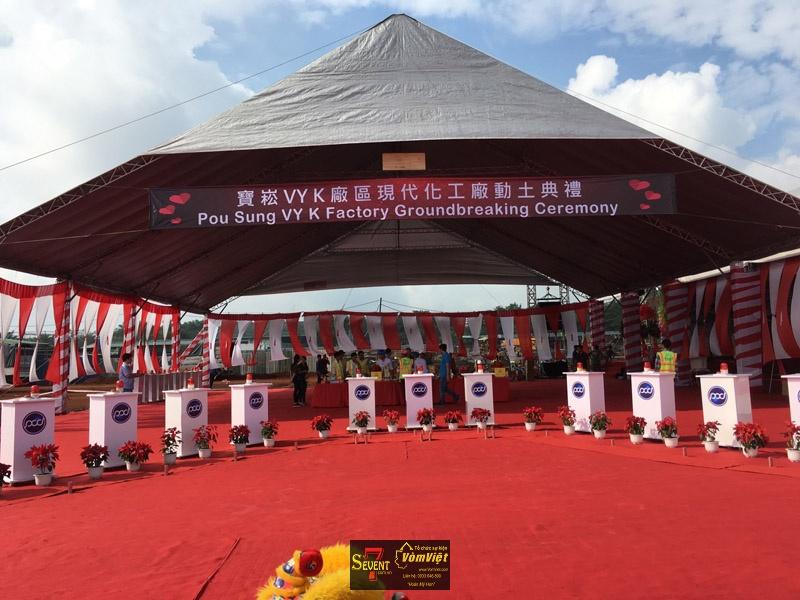 Dự Án Pou Sung VY K Factory Groundbreaking Ceremony tại Trảng Bom - hình 10