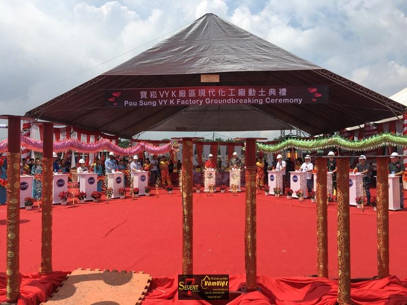 Dự Án Pou Sung VY K Factory Groundbreaking Ceremony tại Trảng Bom - hình 4