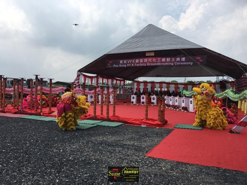 Dự Án Pou Sung VY K Factory Groundbreaking Ceremony tại Trảng Bom - hình 18