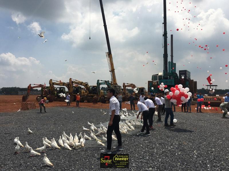 Dự Án Pou Sung VY K Factory Groundbreaking Ceremony tại Trảng Bom - hình 22
