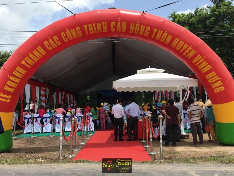 Lễ Khánh Thành - Các Công Trình Cầu Nông Thôn Huyện Vĩnh Hưng Tỉnh Long An - Hình 12