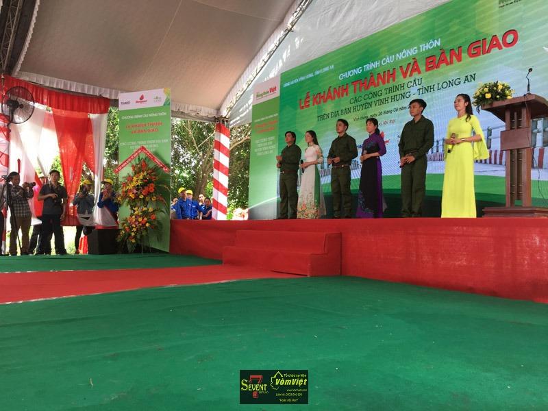 Lễ Khánh Thành - Các Công Trình Cầu Nông Thôn Huyện Vĩnh Hưng Tỉnh Long An - Hình 11