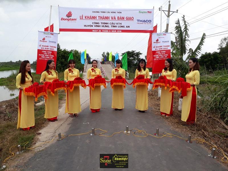 Lễ Khánh Thành - Các Công Trình Cầu Nông Thôn Huyện Vĩnh Hưng Tỉnh Long An - Hình 17