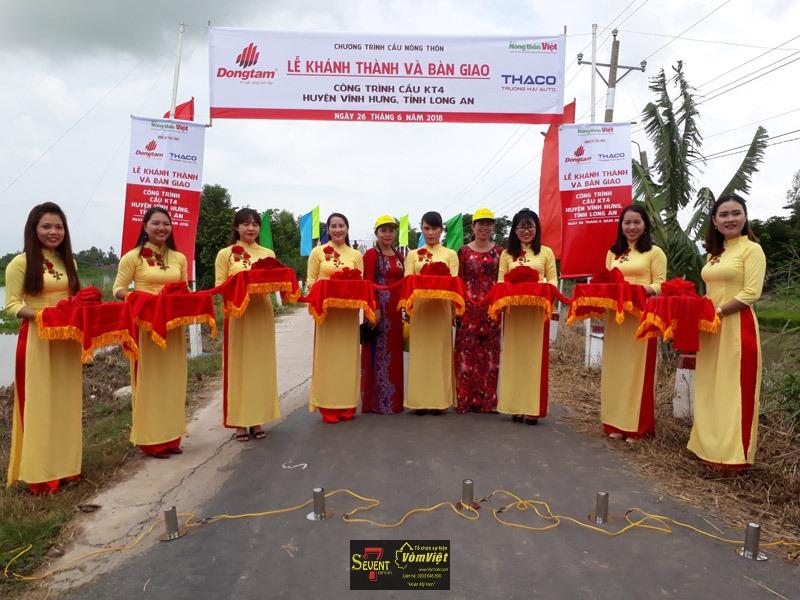 Lễ Khánh Thành - Các Công Trình Cầu Nông Thôn Huyện Vĩnh Hưng Tỉnh Long An - Hình 18