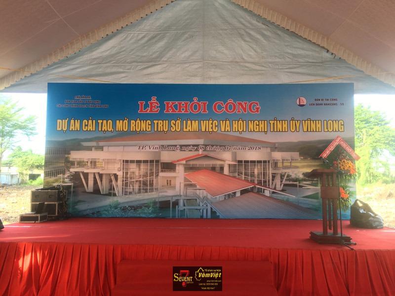 Lễ Khởi Công - Dự Án Mở Rộng Trụ Sở Làm Việc Và Hội Nghị Tỉnh Ủy Vĩnh Long - Hình 1